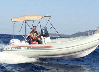 Rent a motorboat in Marina Botafoch - Selva 470 DS