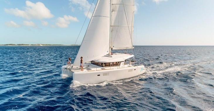 Rent a catamaran Lagoon 39 in Maya Cove, Hodges Creek Marina, Tortola