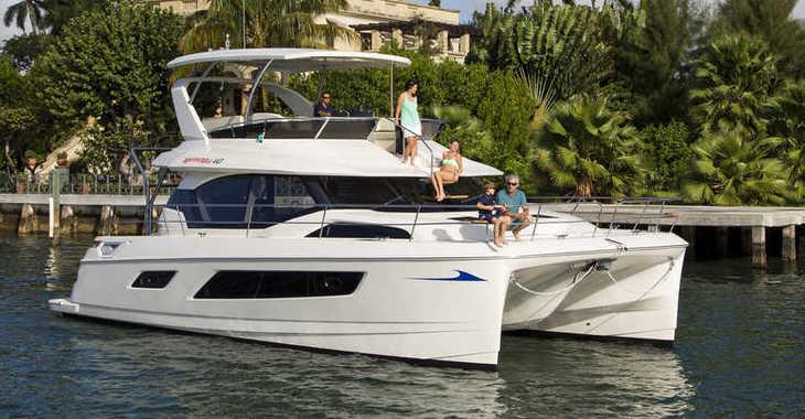 Alquilar catamarán Aquila 443 en Maya Cove, Hodges Creek Marina, Tortola East End