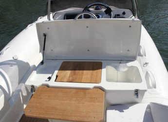 Rent a dinghy Zodiac NZO 600 in Marina Ibiza, Ibiza (city)