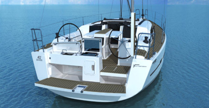 Rent a sailboat Dufour 412 in Marina Port Royale, Marigot