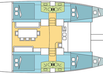 Alquilar catamarán Bali 4.0 en Marina Bas du Fort, Pointe-à-Pître