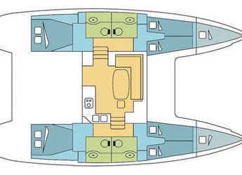 Rent a catamaran Lagoon 400 S2 in Marina di Olbia, Olbia