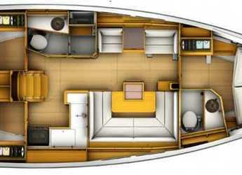 Rent a sailboat in Club Marina - Sun Odyssey 409