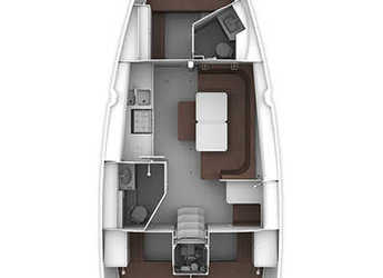 Alquilar velero Bavaria Cruiser 41 en Club Marina, Gocek