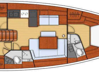 Rent a sailboat in Club Marina - Oceanis 45