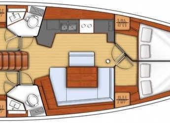 Rent a sailboat Oceanis 45 in Club Marina, Göcek