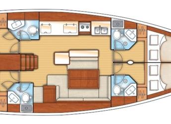 Alquilar velero en Club Marina - Oceanis 50