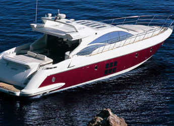 Rent a yacht in Port of Santa Eulària  - Azimut 68S