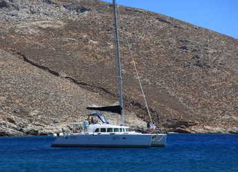 Rent a catamaran in Port Lavrion - Lagoon 440