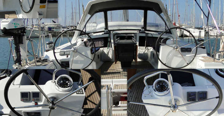 Rent a sailboat in Marina di Portorosa - Oceanis 48