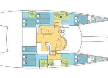 Rent a catamaran Eleuthera 60 in Eden Island Marina, Mahé
