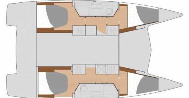 Alquilar catamarán Lucia 40 en Cala Nova, Palma de mallorca