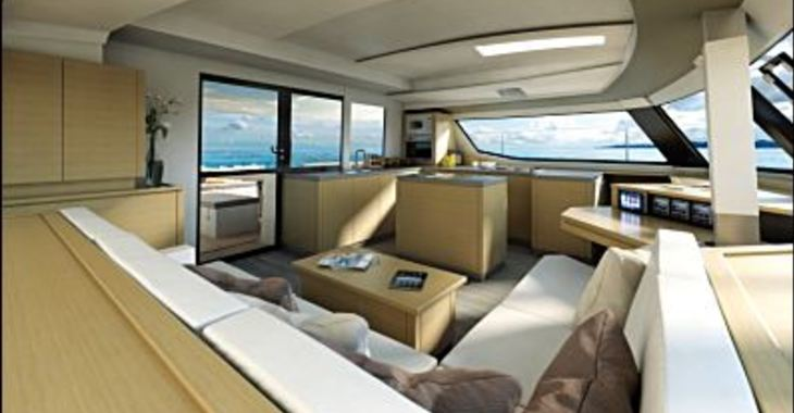 Rent a catamaran Saba 50 in Marina Le Marin, Le Marin