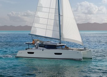 Rent a catamaran in Marina Le Marin - New 47 Quintet
