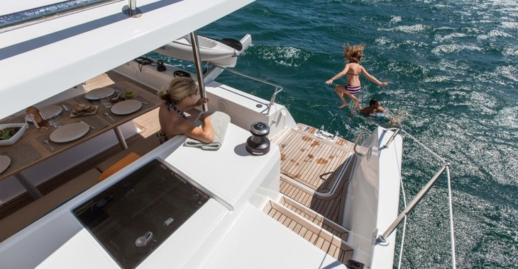 Rent a catamaran in Marina Le Marin - Helia 44