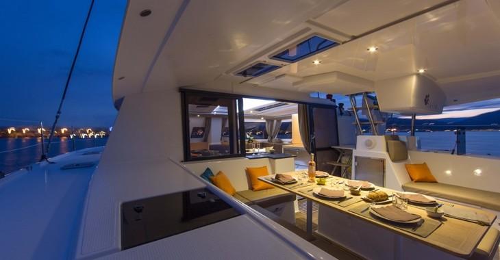 Rent a catamaran in Marina Le Marin - Helia 44