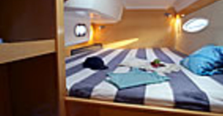 Rent a catamaran Mahe 36 Evolution in Marina Le Marin, Le Marin