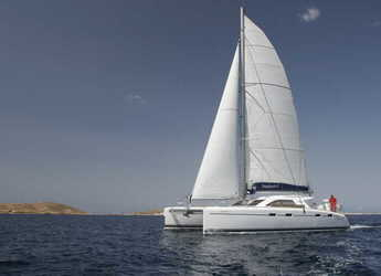 Rent a catamaran in Port Lavrion - Nautitech 47