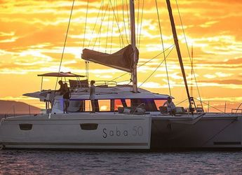 Rent a catamaran in Road Reef Marina - Fountaine Pajot Saba