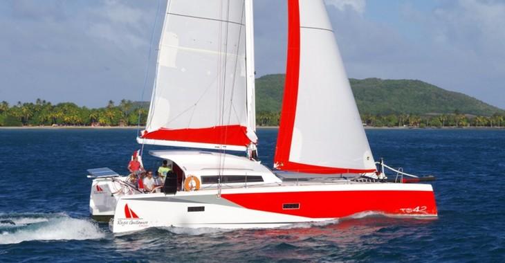 Rent a catamaran in Marina Le Marin - TS 42