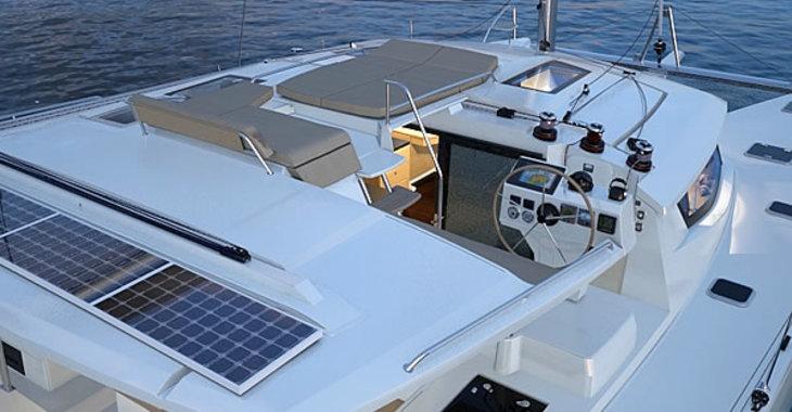 Rent a catamaran in Scrub Island - Helia 44