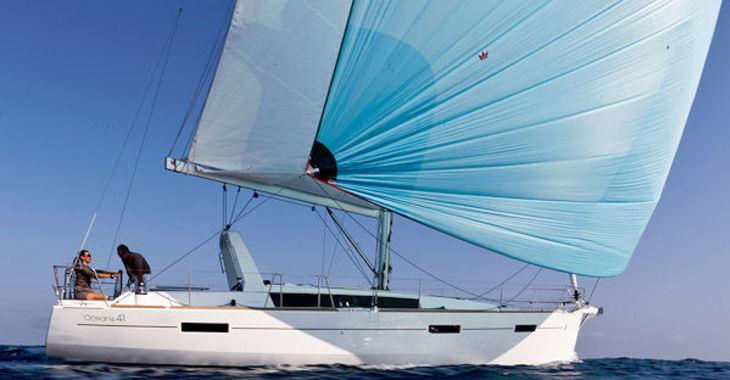 Rent a sailboat Beneteau Oceanis 41  in Road Reef Marina, Road town