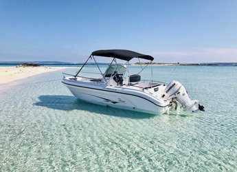 Chartern Sie motorboot Ranieri 19s in Marina Botafoch, Ibiza (stadt)