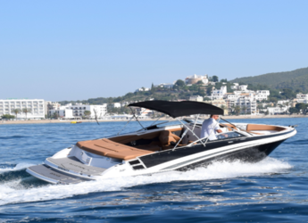 Rent a motorboat in Port of Santa Eulària  - Galastron GT 245