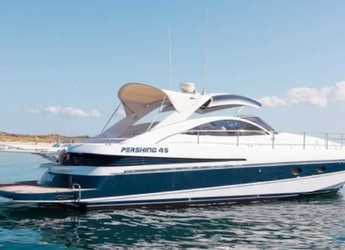 Rent a yacht in Marina Ibiza - Pershing 45