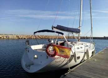 Chartern Sie segelboot Beneteau Oceanis 351 in Club Naútico de Oliva, Costa de Valencia