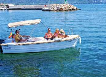 Rent a motorboat in Marina Porto Cristo - Silver 495