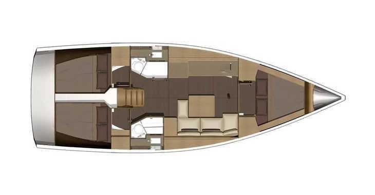 Alquilar velero Dufour 382 Grand Large en Marina Kastela, Kastel Gomilica