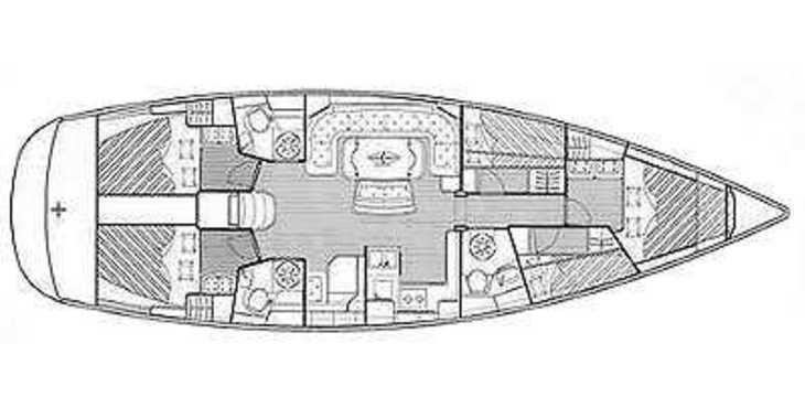Alquilar velero Bavaria 50 Cruiser en ACI Pomer, Pomer