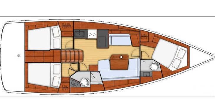 Alquilar velero en Marina Kastela - Oceanis 41.1