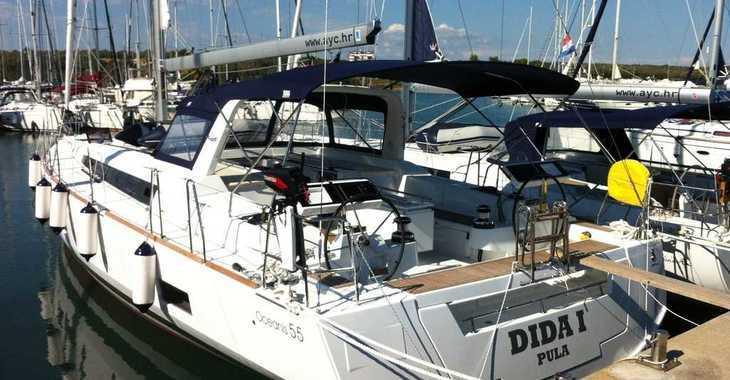Alquilar velero en ACI Pomer - Oceanis 55