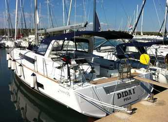 Rent a sailboat in ACI Pomer - Oceanis 55