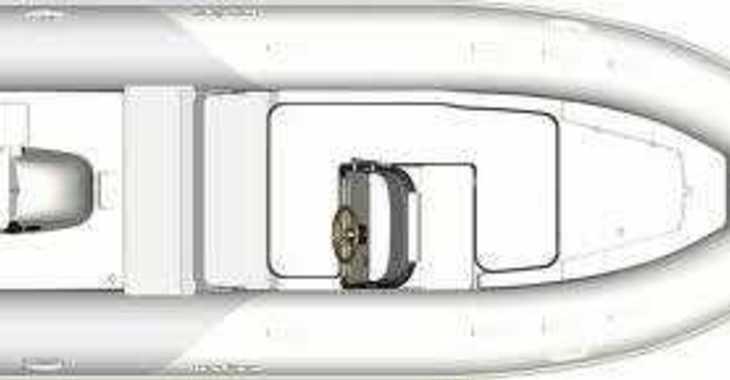 Louer bateau à moteur à ACI Pomer - Zodiac Medline 540