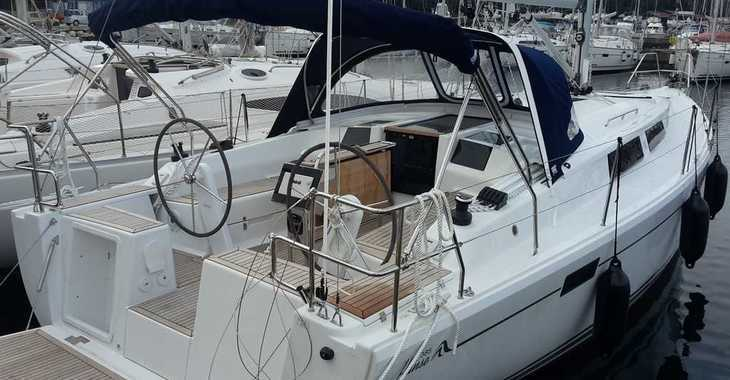 Alquilar velero Hanse 385 en Marina Kastela, Kastel Gomilica