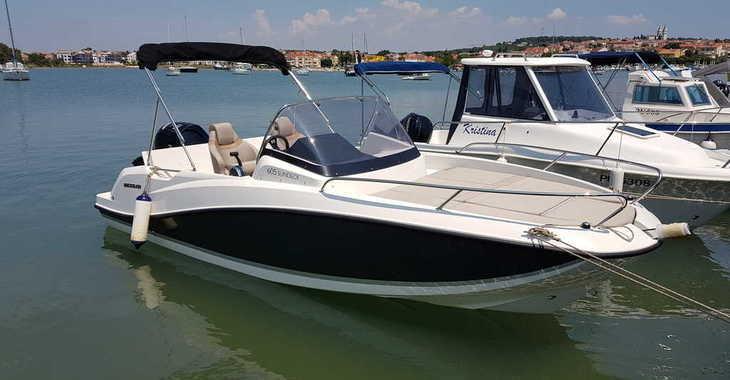 Alquilar barco a motor Quicksilver activ 605 sundeck en ACI Pomer, Pomer