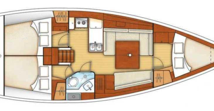 Alquilar velero en Marina Kastela - Oceanis 37