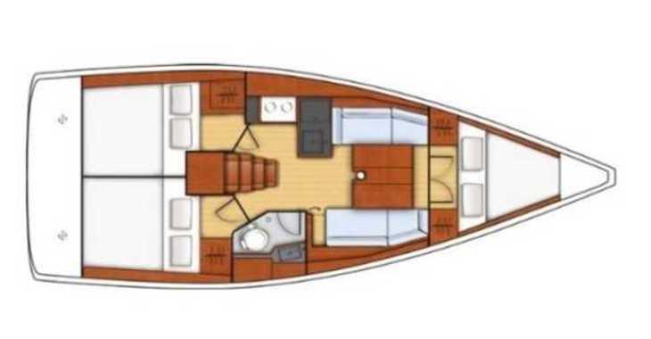 Alquilar velero Oceanis 35.1 en ACI Pomer, Pomer