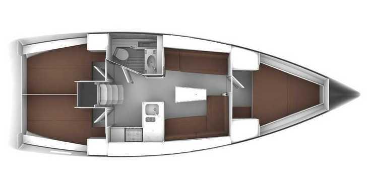 Rent a sailboat in Marina Sukosan (D-Marin Dalmacija) - Bavaria 37 '17