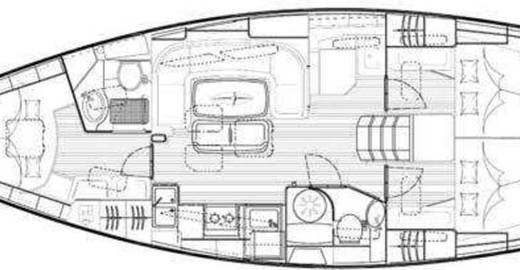 Rent a sailboat in Marina Sukosan (D-Marin Dalmacija) - Bavaria 40 BT '09