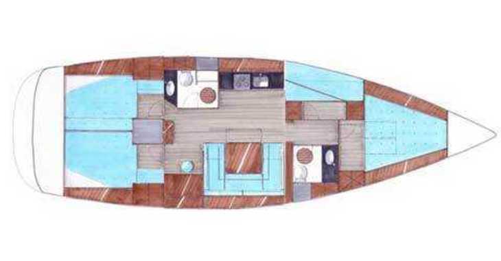 Alquilar velero Bavaria 47 BT '09 en Marina Sukosan (D-Marin Dalmacija), Sukosan