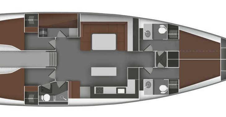 Alquilar velero Bavaria 55 BT '11 en Marina Sukosan (D-Marin Dalmacija), Sukosan