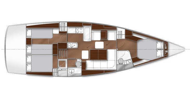 Alquilar velero en Marina Sukosan (D-Marin Dalmacija) - Bavaria Vision 46 BT'13
