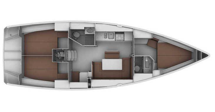 Rent a sailboat in Marine Pirovac - Bavaria 40 BT '13
