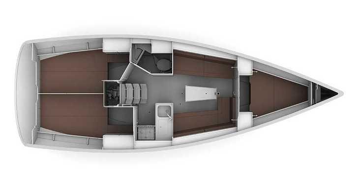Alquilar velero Bavaria 34 '17 en Marina Sukosan (D-Marin Dalmacija), Sukosan