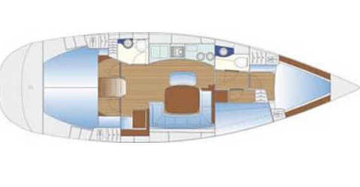Alquilar velero Bavaria 44 (N) en Marina Zadar, Zadar